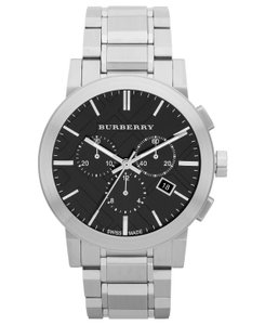 Burberry Burberry Men's Swiss Chronograph Stainless Steel Bracelet 42mm BU9351