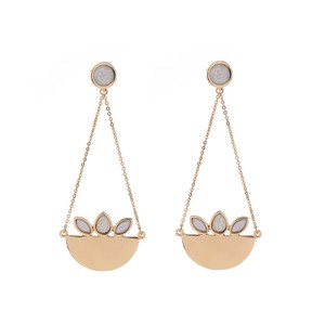Private Collection Caribou Gold Statement Earrings