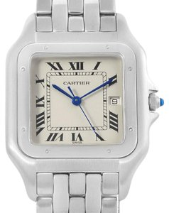Cartier Cartier Panthere Jumbo Stainless Steel Quartz Watch W25032P5 Box