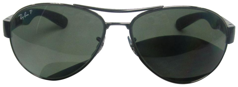 48c059cfe1 Ray-Ban Black Green Made In Italy Rb3509 004 9a Polarized  Sta609 Sunglasses