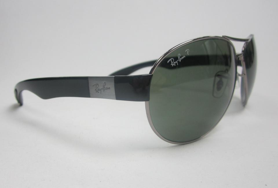 929d5397dd Ray-Ban Black Green Made In Italy Rb3509 004 9a Polarized  Sta609 Sunglasses  - Tradesy