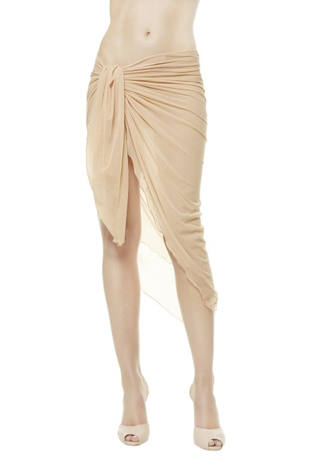 Item - Beige Cover-up/Sarong Size OS (one size)