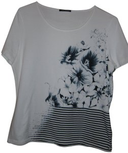 LUISA CERANO T Shirt Blue and White