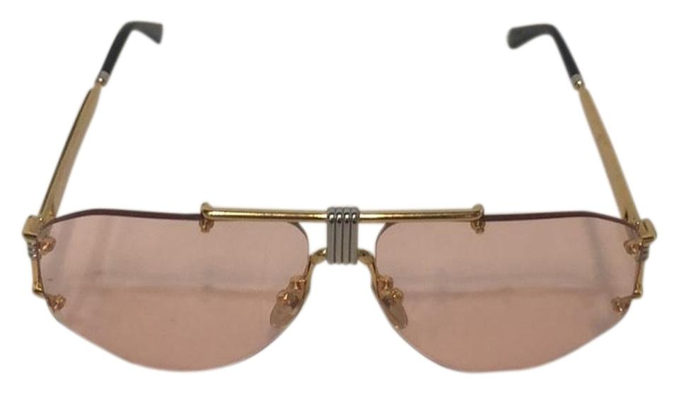 462a0840a6 Céline Pink and Gold Cl40039u 32s Sunglasses - Tradesy
