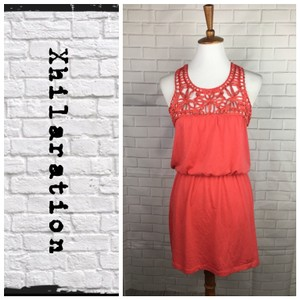Xhilaration short dress Melon on Tradesy