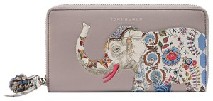 Tory Burch NWT. Tory Burch ELEPHANT ZIP CONTINENTAL WALLET