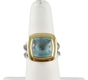 David Yurman David Yurman Blue Topaz Ring
