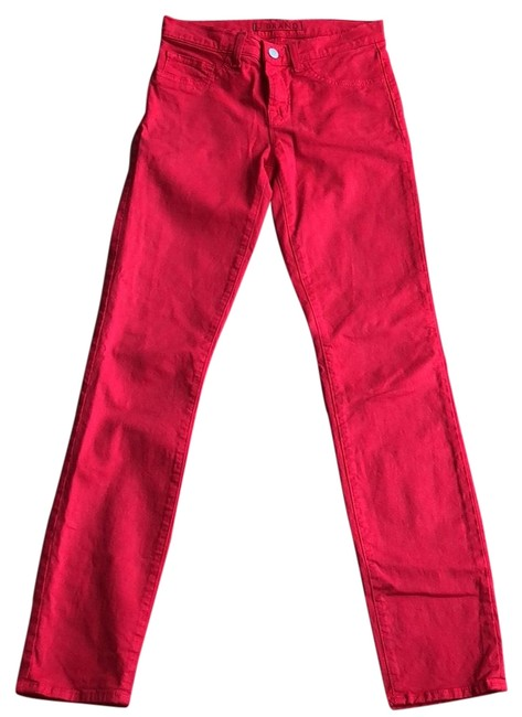 Item - Red Light Wash Straight Leg Jeans Size 0 (XS, 25)