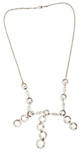 Vintage Abstract Silver Necklace