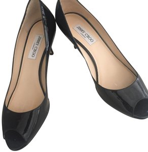 Jimmy Choo Black patent Pumps