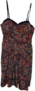 American Rag short dress red and blue patterned on Tradesy