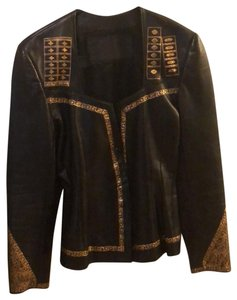 Jean Claude Jitrois Leather Jacket