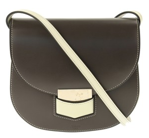 Céline Trotteur Small Trotteur Anthracite Shoulder Bag