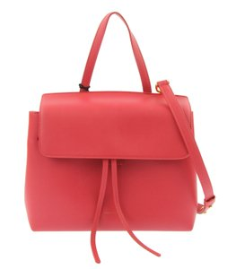 Mansur Gavriel Lady Satchel in Flamma