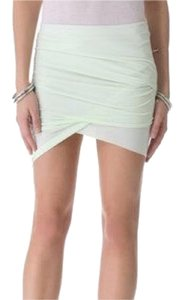 Kimberly Ovitz Mini Skirt mint green