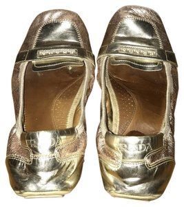 Primavera Couture Pink and gold Flats