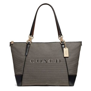Coach 191202425064 F25913 Tote in MILK/BLACK