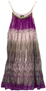 H&M Braided Beaded Shimmer Trapeze A-line Dress
