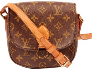 Louis Vuitton Saint Cloud Mm Saint Cloud Monogram Vintage Cross Body Bag