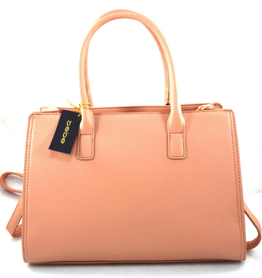a8ecad4961 bebe Holly Pink Prairie Sunset Faux Leather Satchel - Tradesy