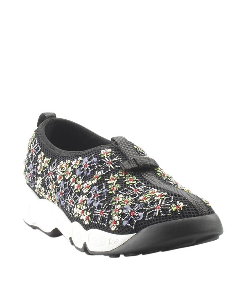 7041b499fd67 Dior Black Christian Fusion Sequin   Fabric Sneakersx (149076) Formal Shoes