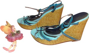 Christian Siriano for Payless Sandal Summer Fun Fun Sandals Multi Color Wedges