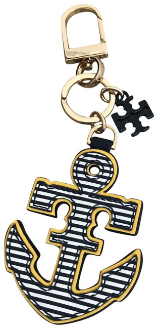 Item - Multicolor Fully Reversible Anchor Keychain Fob