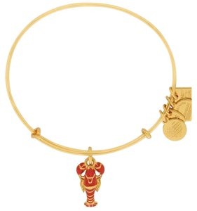 Alex and Ani Lobster Charm Bangle