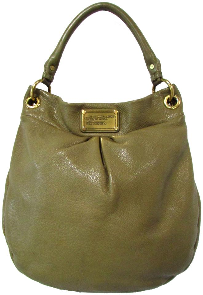 c7ba93906d Marc by Marc Jacobs Standard Supply Workwear Shoulder Taupe Leather ...