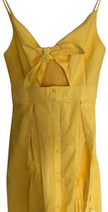 Sundress short dress yellow on Tradesy