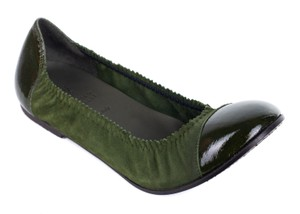 Brunello Cucinelli Green Flats