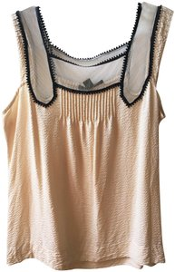 Country Road Silk Summer Spring Work Wear Top Champagne
