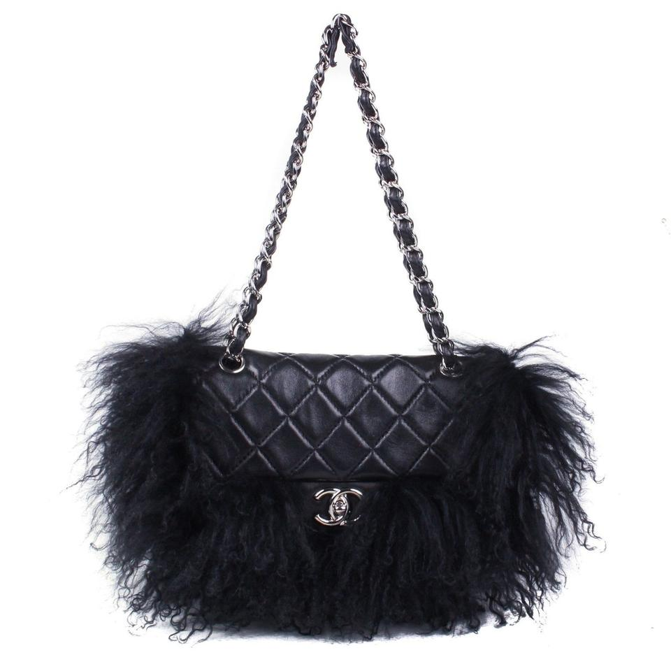 20d4a2b1b0 Chanel Rare Fur Lambskin Limited Edition Leather Cross Body Bag Image 0 ...