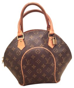 Louis Vuitton Satchel in LV Brown/Tan Monogram