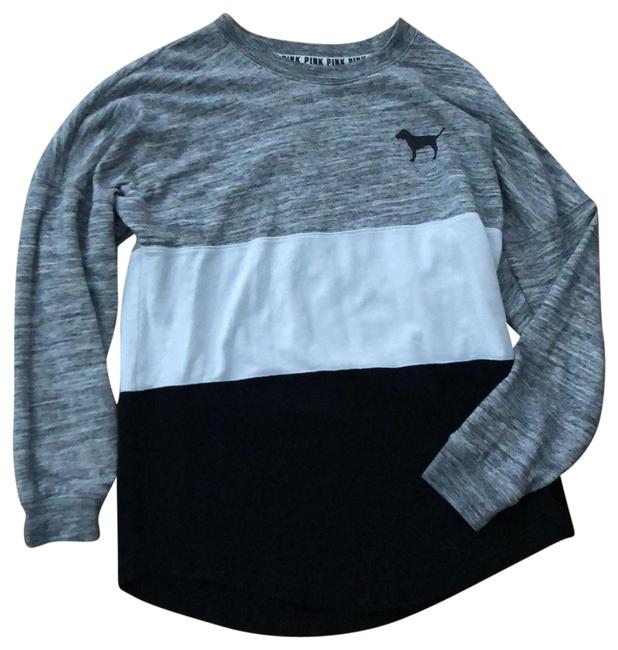 Item - Black White and Gray Colorblock Tunic Size 6 (S)
