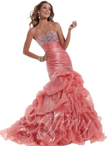 Tiffany & Co. Prom Pageant Homecoming Blush Dress