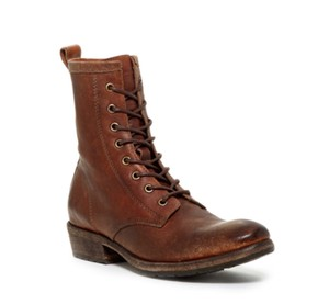 Frye Leather Cognac Boots