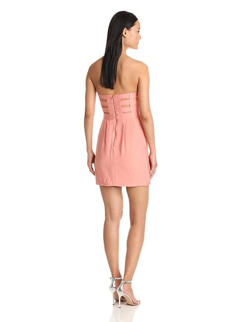 BCBGeneration short dress Pink Sweetheart Strapless Pockets on Tradesy