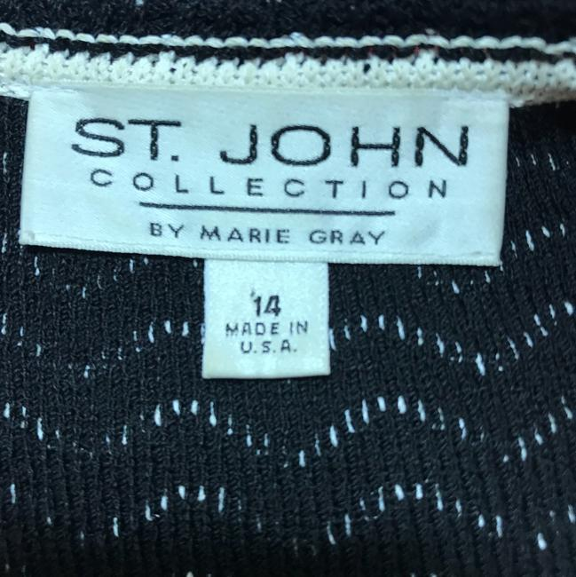 St. John Jacket Black/White Blazer