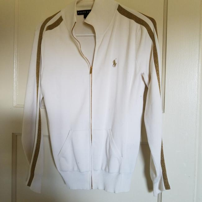 Preload https://img-static.tradesy.com/item/23416466/ralph-lauren-white-and-gold-sporty-style-jacket-activewear-size-petite-6-s-0-1-650-650.jpg