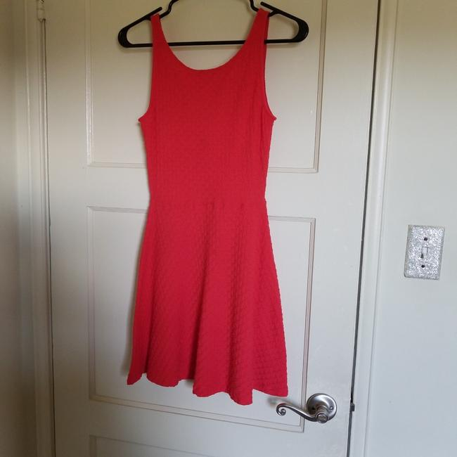 Preload https://img-static.tradesy.com/item/23416488/divided-by-h-and-m-red-or-work-short-casual-dress-size-petite-4-s-0-0-650-650.jpg