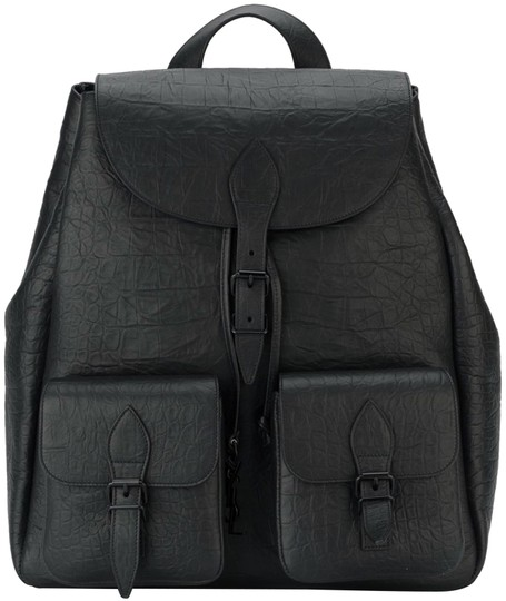 Preload https://img-static.tradesy.com/item/23416517/saint-laurent-festival-crocodile-embossed-black-leather-backpack-0-1-540-540.jpg