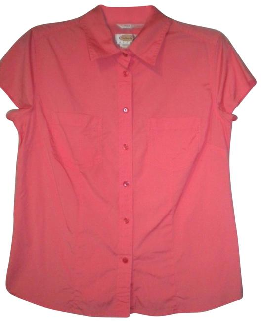 Preload https://img-static.tradesy.com/item/23416561/talbots-orange-women-medium-shirt-button-down-top-size-petite-8-m-0-1-650-650.jpg