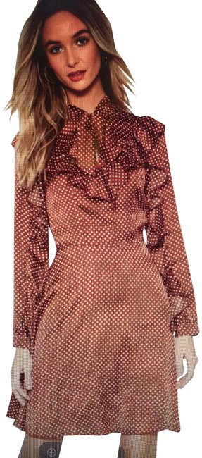 Preload https://img-static.tradesy.com/item/23416577/nasty-gal-cinnamon-i-kid-you-spot-polka-dot-mid-length-short-casual-dress-size-2-xs-0-1-650-650.jpg