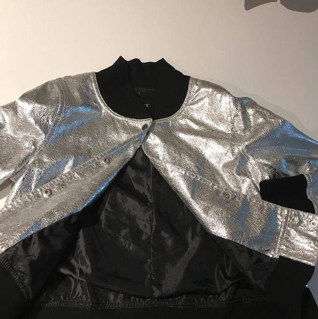Other silver Leather Jacket
