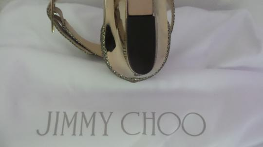 Jimmy Choo Gold New with tags Sandals