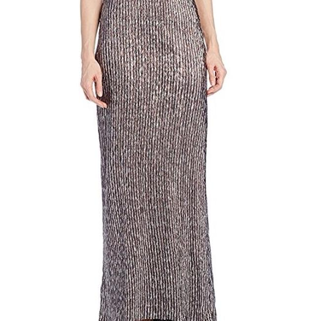 BCBGeneration Long Silver Mermaid Maxi Skirt brown