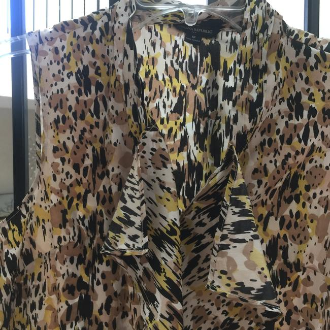 Banana Republic Top Gold & Black