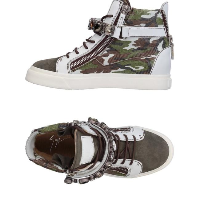 Item - White Green Brown New Sneakers Size EU 38 (Approx. US 8) Regular (M, B)