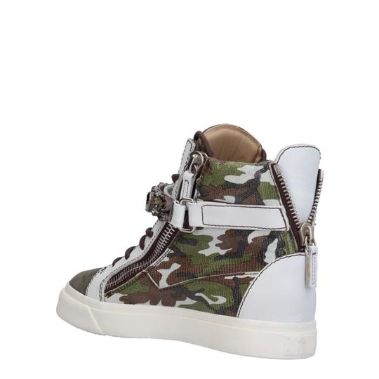 Giuseppe Zanotti white green brown Athletic